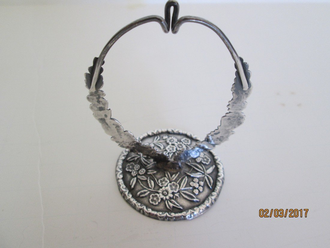 S. Kirk sterling watch holder
