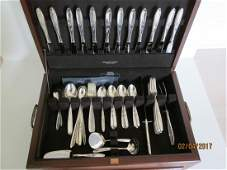 """Towle """"Rose Solitaire"""" ss flatware"""