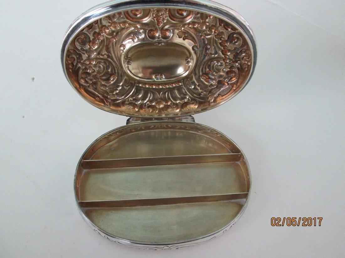 Tiffany SS antique dresser box - 4