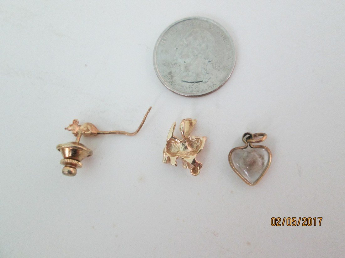 Lot of 14kt gold jewelry