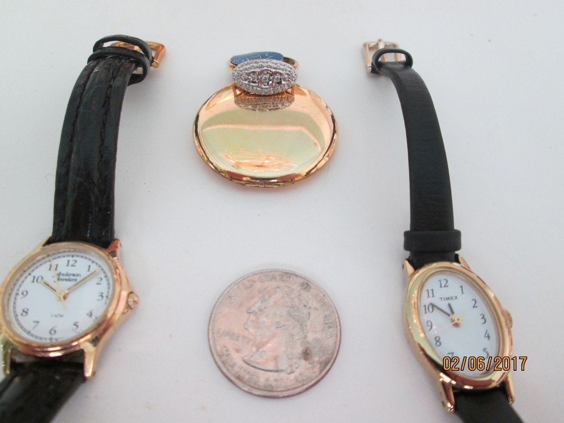 Watches and ring