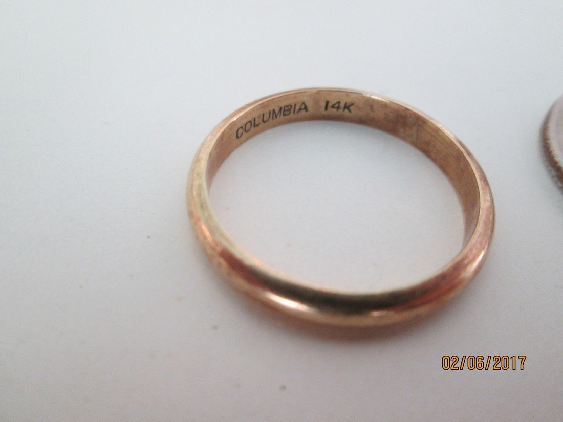 14kt wedding ring