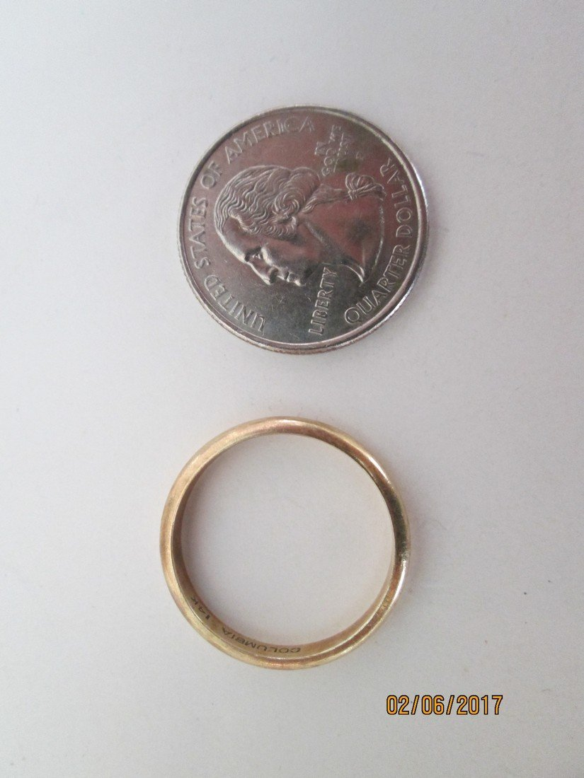 14kt wedding ring - 2