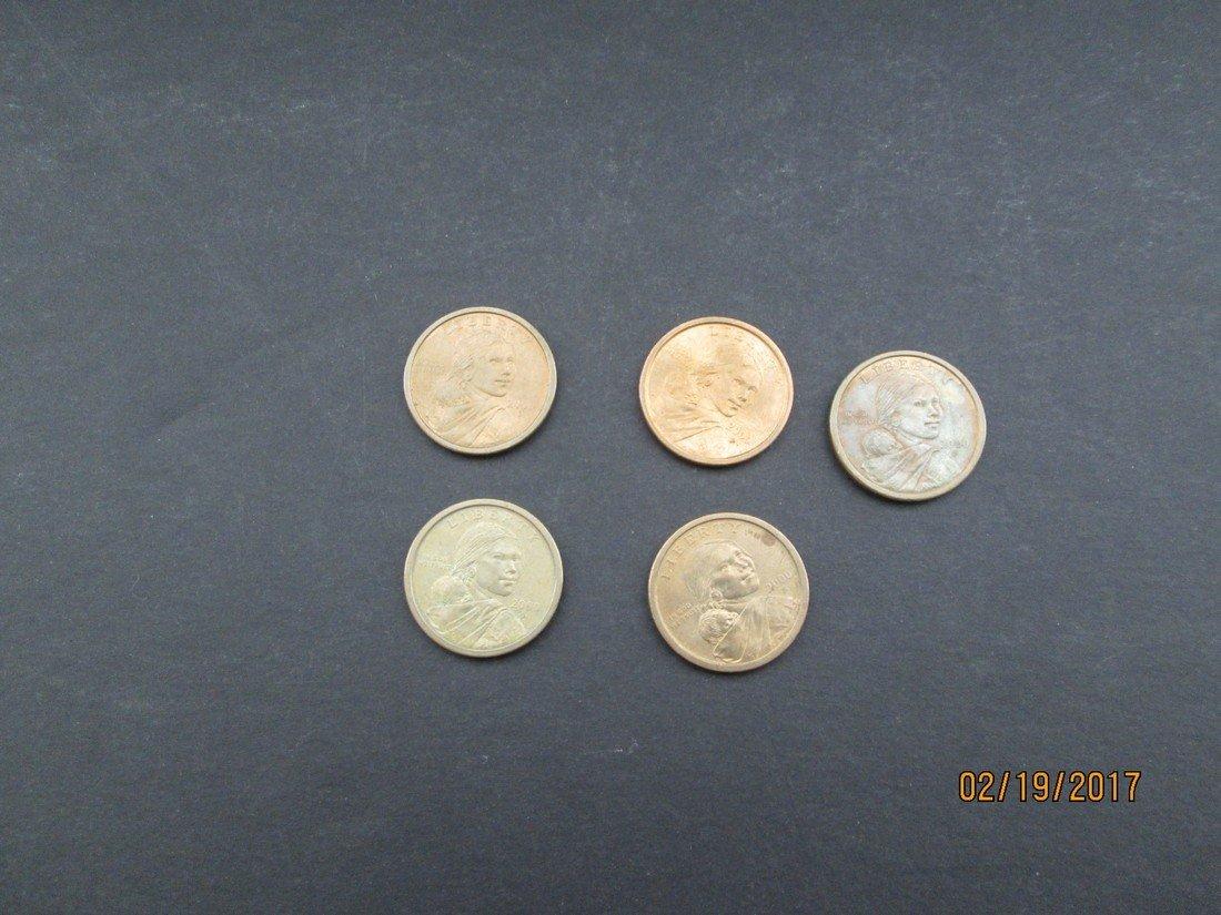 Sacagawea dollars