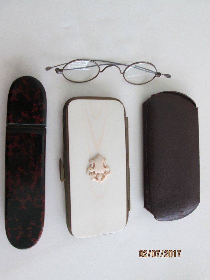 Antique optical items