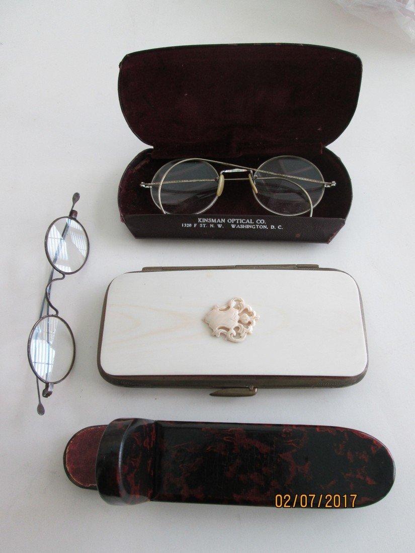 Antique optical items - 2