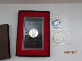 1971 Eisenhower silver dollars