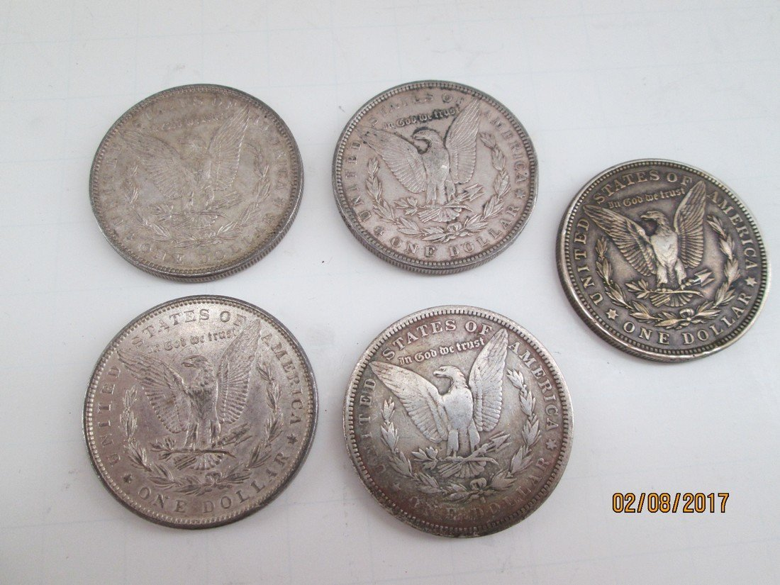 Assorted Liberty Head $1 coins - 2