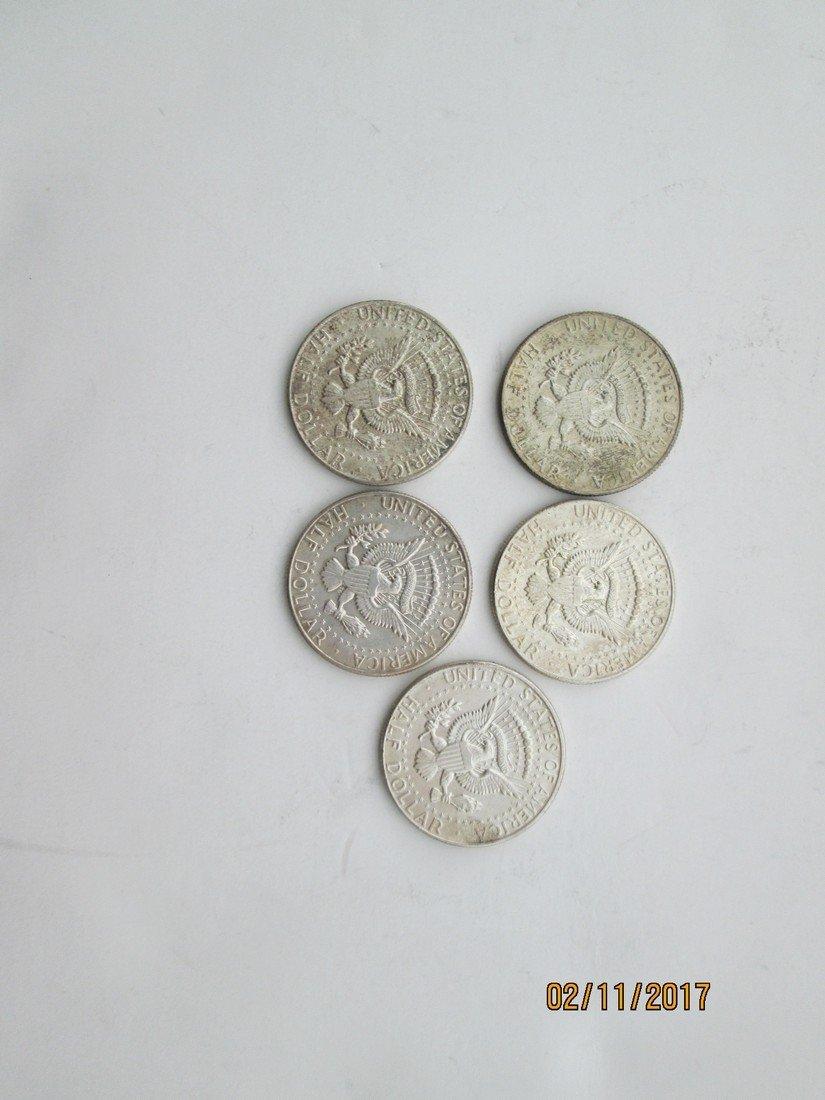 Kennedy half dollars - 2
