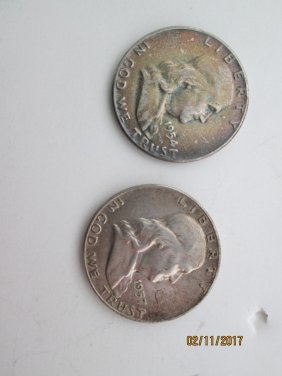 Franklin half-dollars