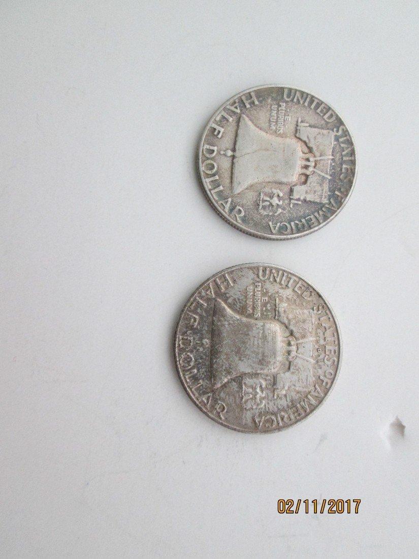 Franklin half-dollars - 2