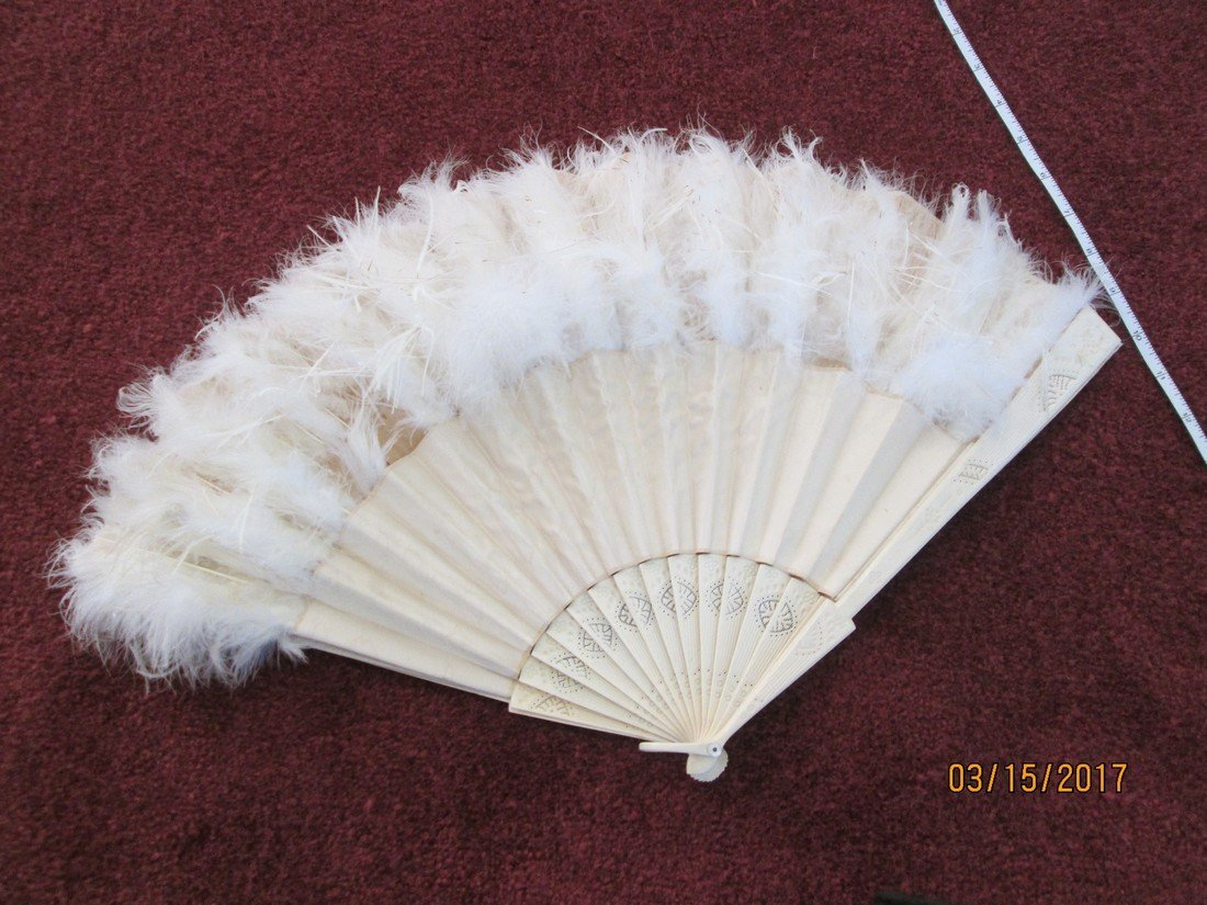 Antique Victorian fan