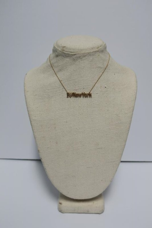 Jewelry 14 kt yellow gold 'I Love New York' Necklace - 3