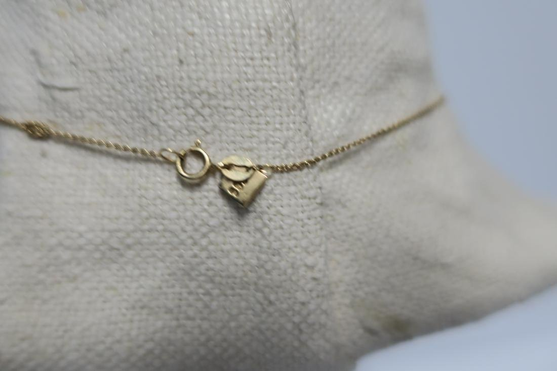 Jewelry 14 kt yellow gold 'I Love New York' Necklace - 4