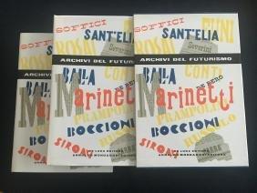 Archivi del Futurismo, book, 2 vols.