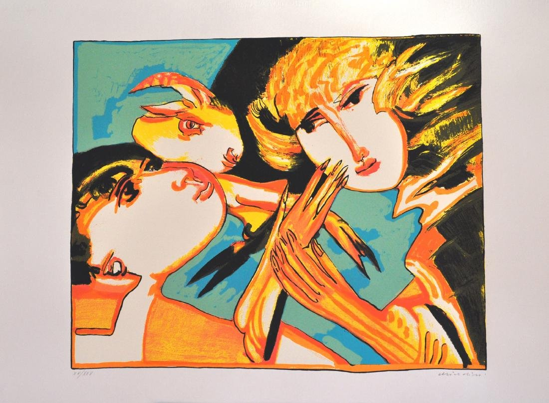 Brindisi (Remo), original silkscreen signed and