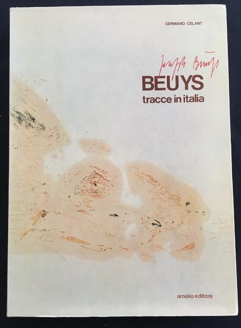 Beuys (Joseph), signed book.
