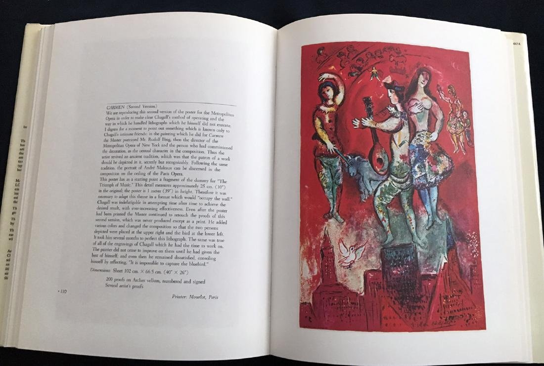 Catalogue raisonne`, Chagall's Posters.