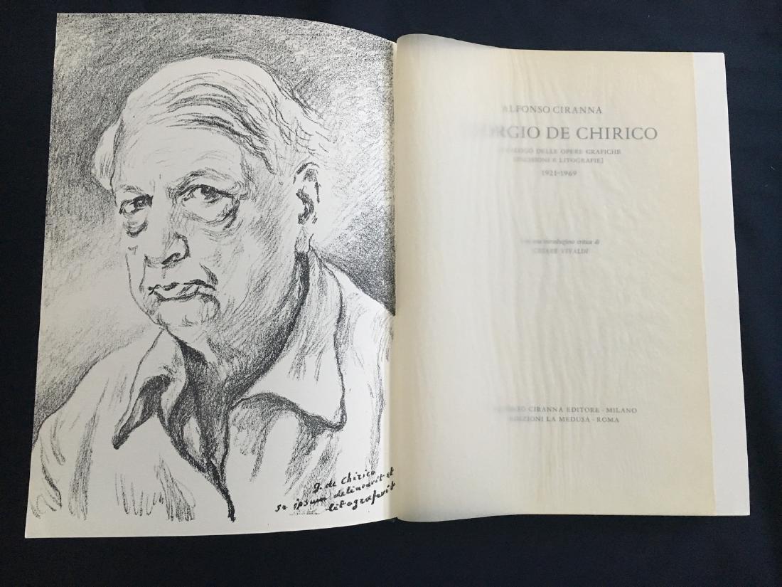 De Chirico (Giorgio), book with original lithograph.