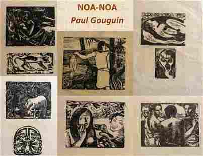 Gauguin (Paul), 17 original woodcuts.