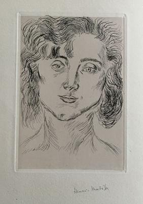 Matisse (Henri), book with signed etching and
