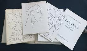 Matisse (Henri), book with 15 original lithographs and