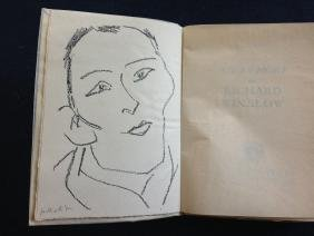 Matisse (Henri), book with original signed lithograph.