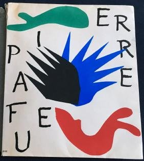 Matisse (Henri), book with original lithograph and wood