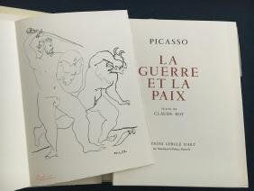 Picasso (Pablo), portfolio with signed lithograph.