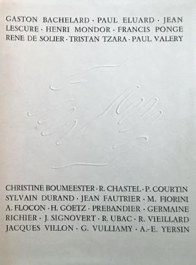 Portfolio with 16 signed prints (Fautrier, Ubac, Villon