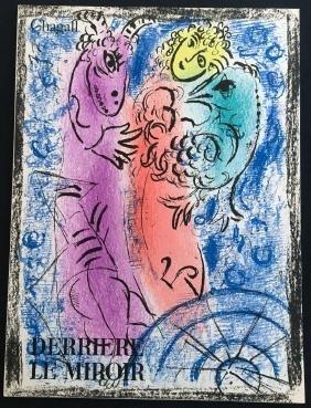 Revue Derriere le Miroir 132, with 2 original