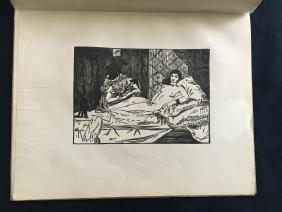 Revue, Kunst und Künstler, 1905, with two original