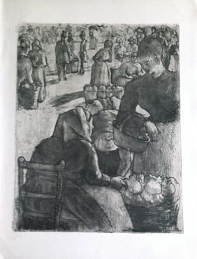 Revue, Le peintre-graveur illustré, 1923, with original