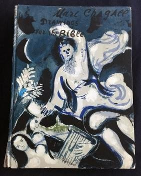 Revue Verve 37-38, Chagall, Drawings for the Bible,