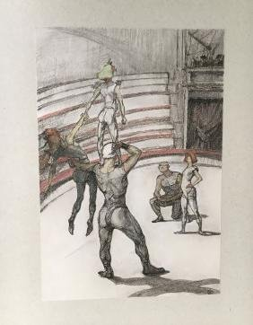 Toulouse-Lautrec (Henri), book with 39 lithographs