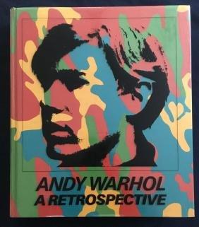 Warhol (Andy), book.
