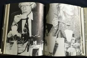 Warhol (Andy), signed book.