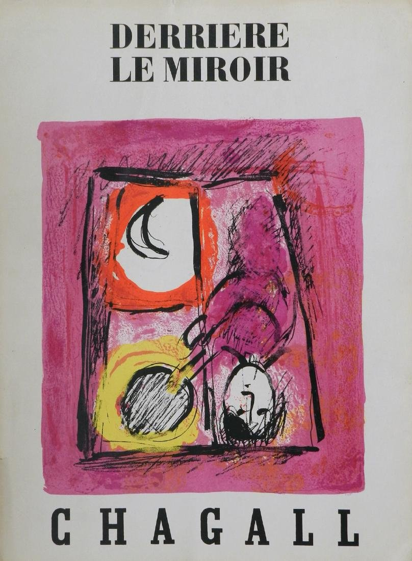 Derriere le Miroir 99-100. 7 lithographs by Chagall