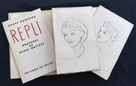 Matisse (Henri), book with original linocuts