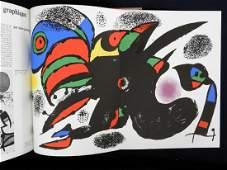 Original lithograph by Miro