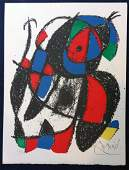 Miro Joan book with 2 original signed lithographs