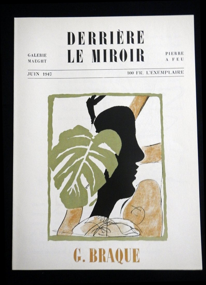 Derriere le Miroir 4. 1947, with one original