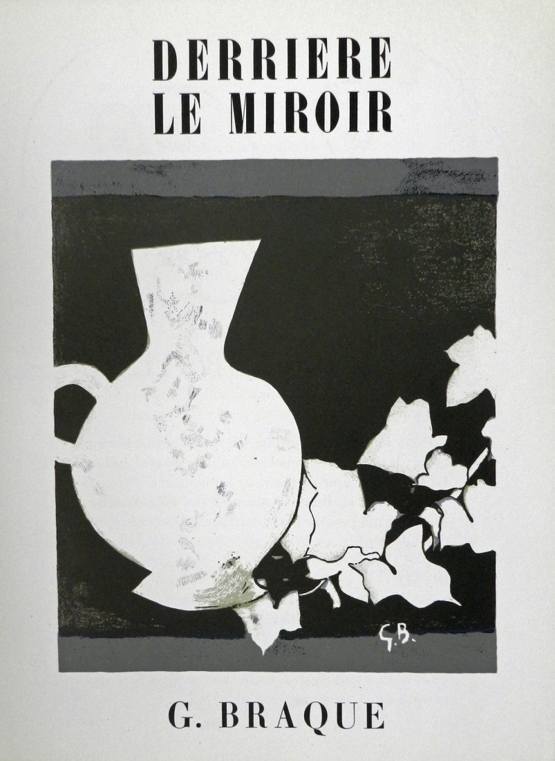 Derriere le Miroir 25-26. 1950, with lithograph by