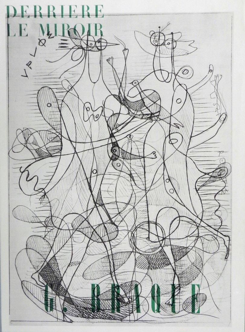 Derriere le Miroir 71-72, 1954.  Braque