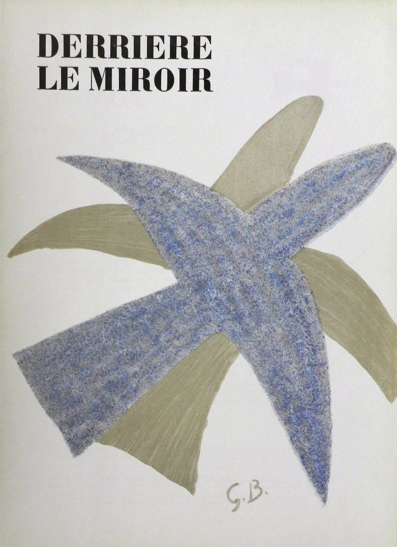 Derriere le Miroir 85-86. 1956, with lithographs by