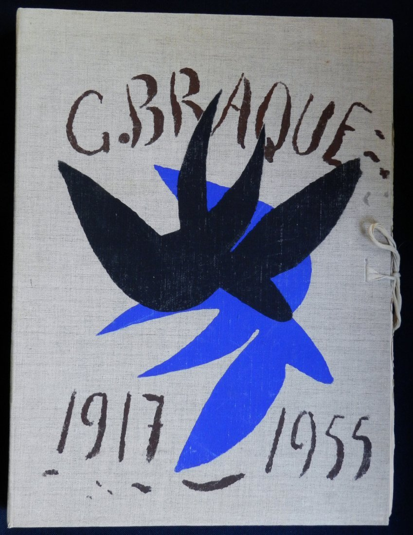 Cahier de Georges Braque, 1917/1947. Maeght 1955