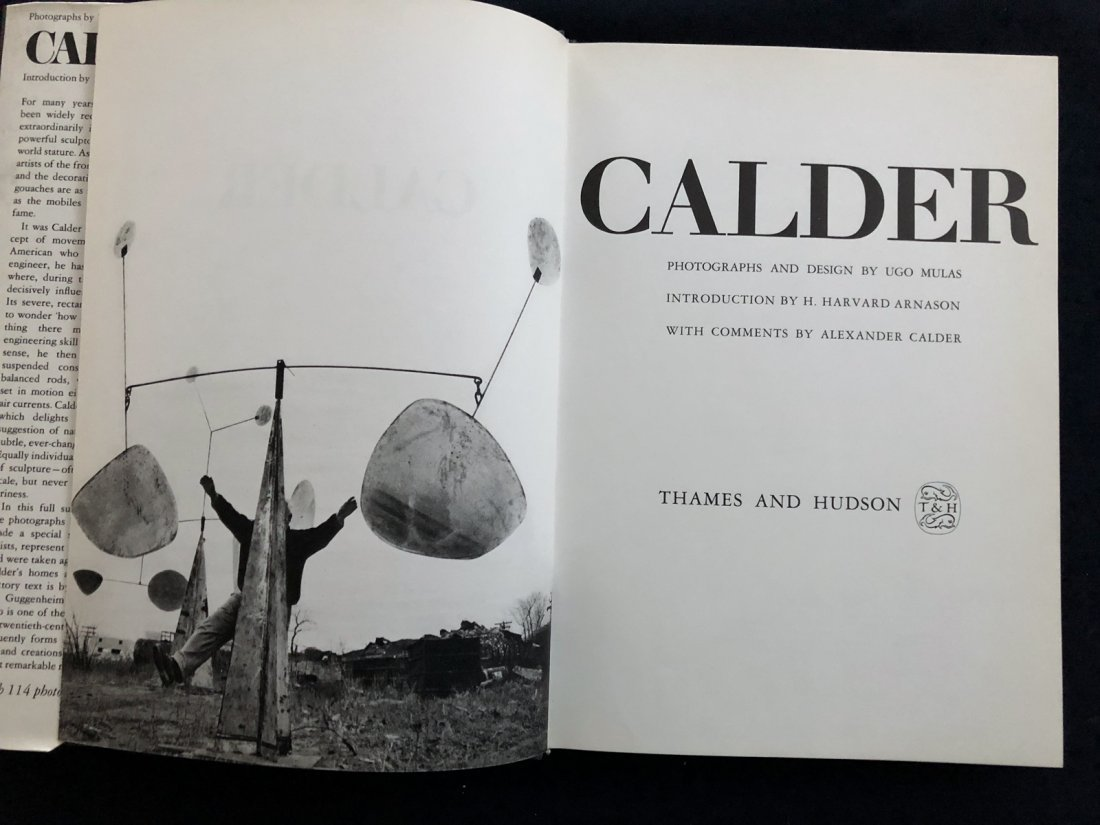 Calder. A survey of Calder s works, 1971