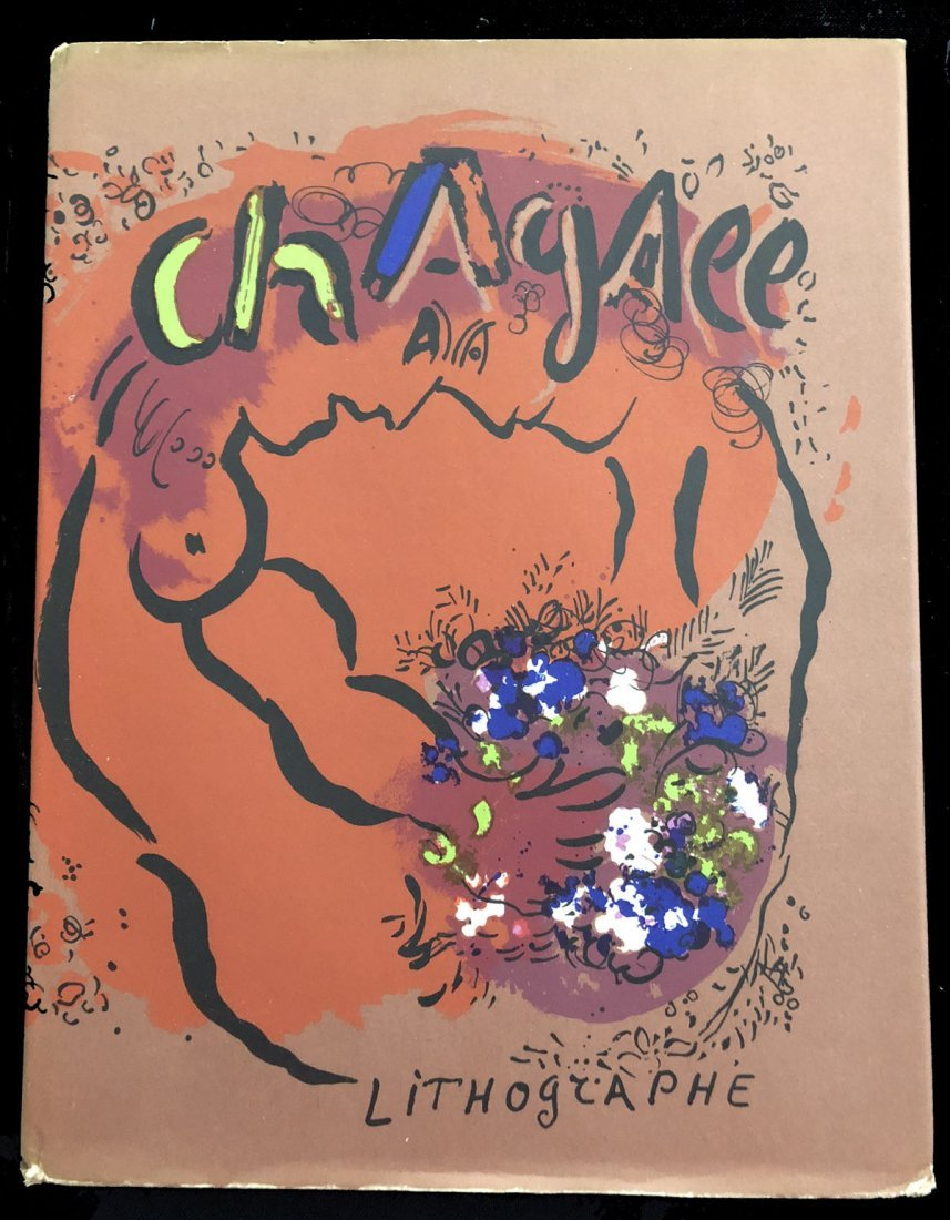 Chagall Lithographe Volume 1 - with 12 color