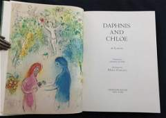 Daphnis and Chloe  Book illustrated by Marc Chagall