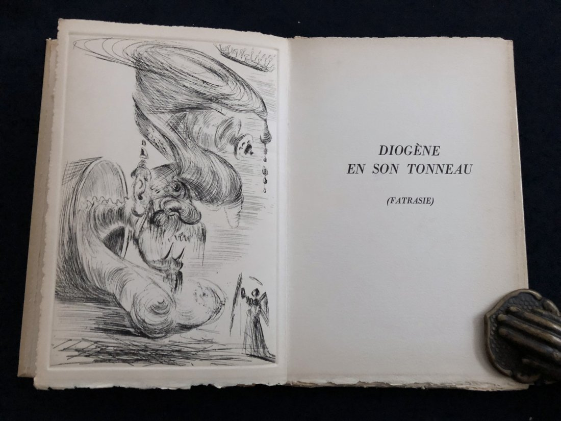 Deux fatrasies. 1963, with 5 engravings by Dali